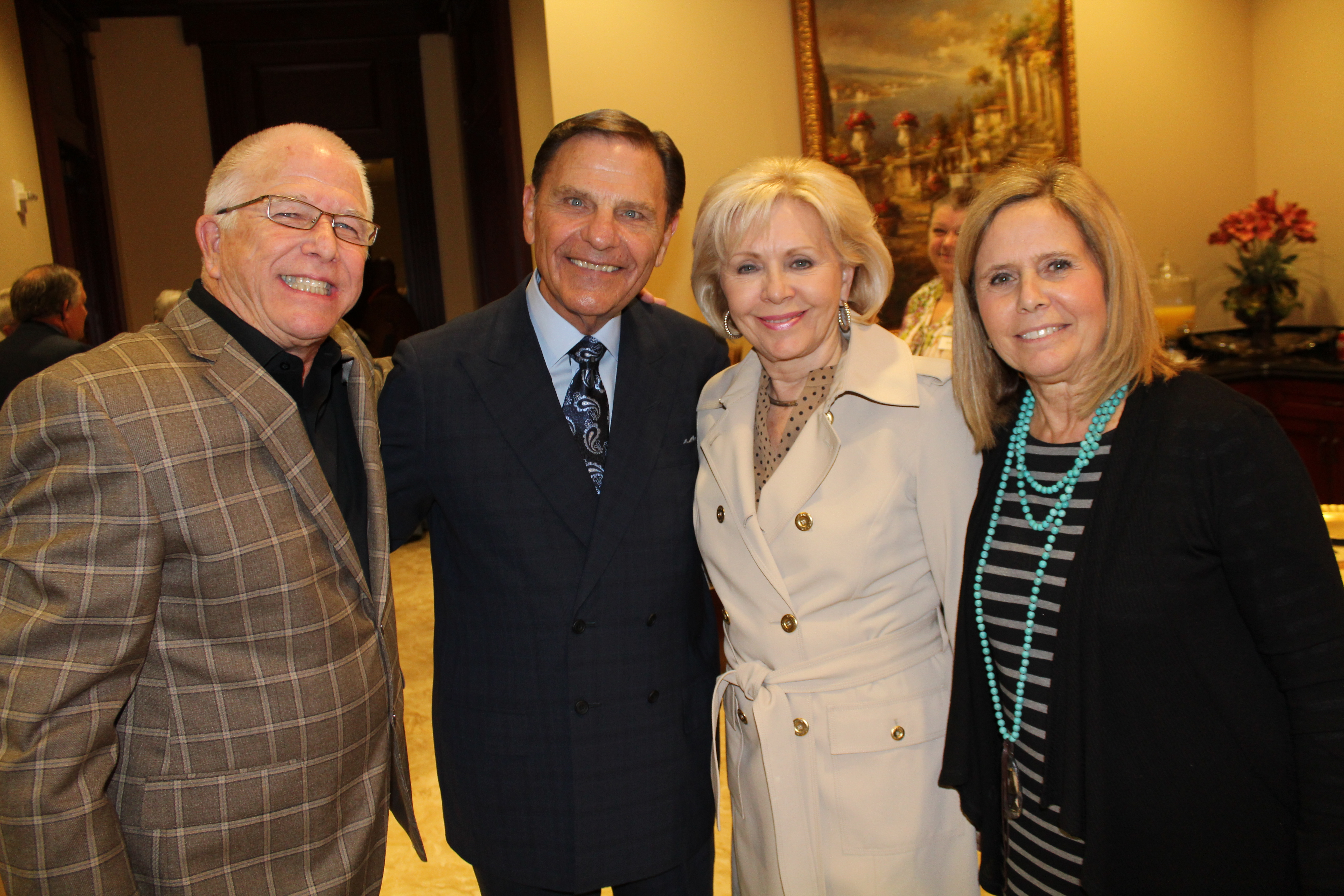 Our Pastors Kenneth and Gloria Copeland preaching at a conference we hosted October of 2015.